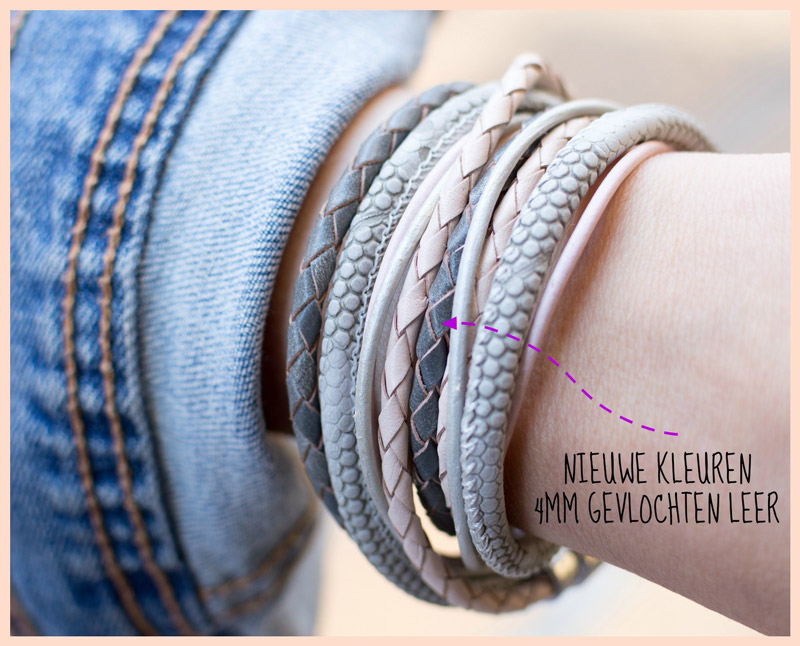 Inspiratie all leather wrap