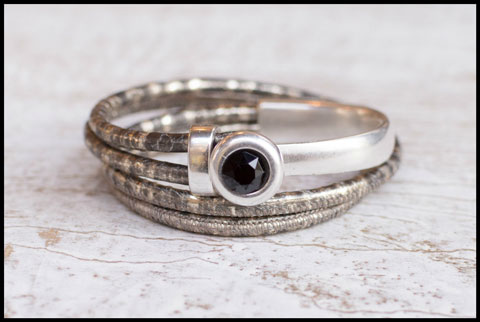 Inspiratie halve metalen armband party