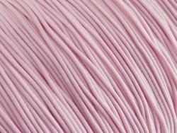 Elastiek draad licht roze 0,8mm