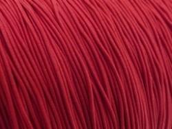 Gekleurd elastiek 0,8mm 10 meter rood