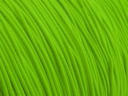 Gekleurd elastiek 0,8mm 10 meter neon groen