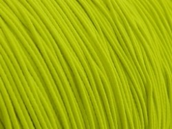 Gekleurd elastiek 0,8mm 10 meter neon geel