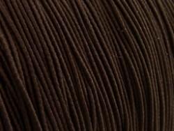Gekleurd elastiek 0,8mm 10 meter bruin