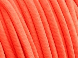 Elastiek draad neon oranje 0,8mm