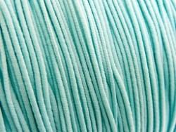 Elastiek draad licht turquoise 0.8mm