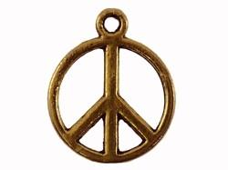 Bedel goud peace 13mm