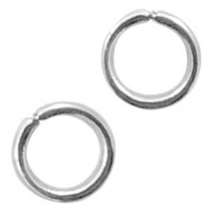 Buigring stainless steel 3mm zilver (per stuk)