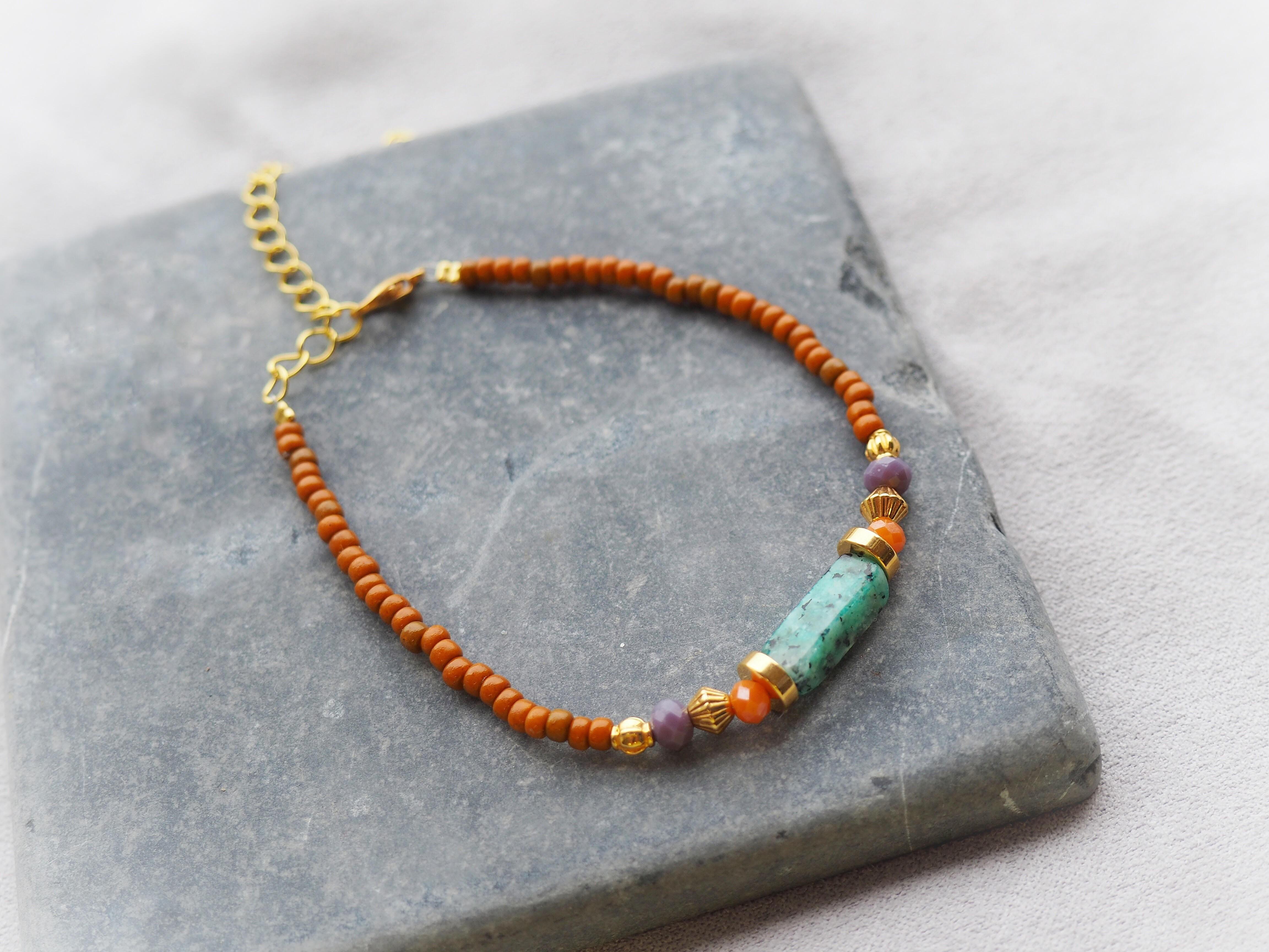 DIY pakket kralen armband miyuki rocailles en natuursteen