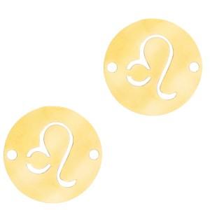 bedel-tussenzetsel-sterrenbeeld-leeuw-goud-stainless-steel-12mm
