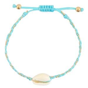 armbandje-kauri-gevlochten-light-turquoise-blue-gold