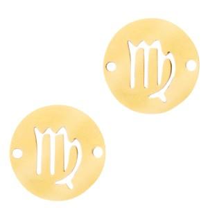 bedel-tussenzetsel-sterrenbeeld-maagd-goud-stainless-steel-12mm