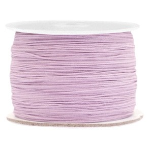 Macrame draad 0.5mm lila purple per meter