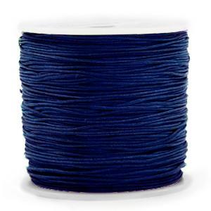 Macrame draad 0.5mm sodalite blue per meter