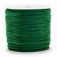 Macrame draad 0.8mm dark green per meter