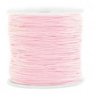 Macrame draad 0.8mm light pink per meter