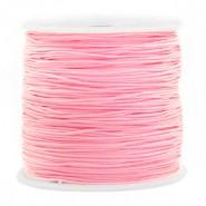 Macrame draad 0.8mm pink per meter