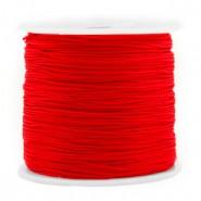 Macrame draad 0.8mm red per meter