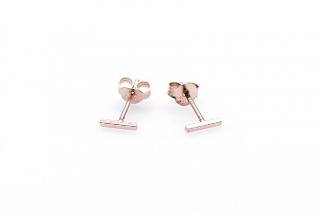 Minimalistische Oorbellen Zilver : Minimalistische oorbellen symbols tube mini sterling zilver