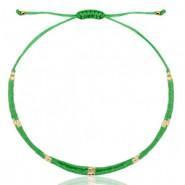 Miyuki armbandje green