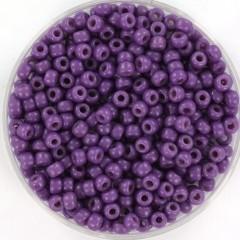 Miyuki rocailles 8/0 (3mm) 5 gram duracoat opaque anemone