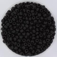 Miyuki rocailles 8/0 (3mm) 5 gram matte black