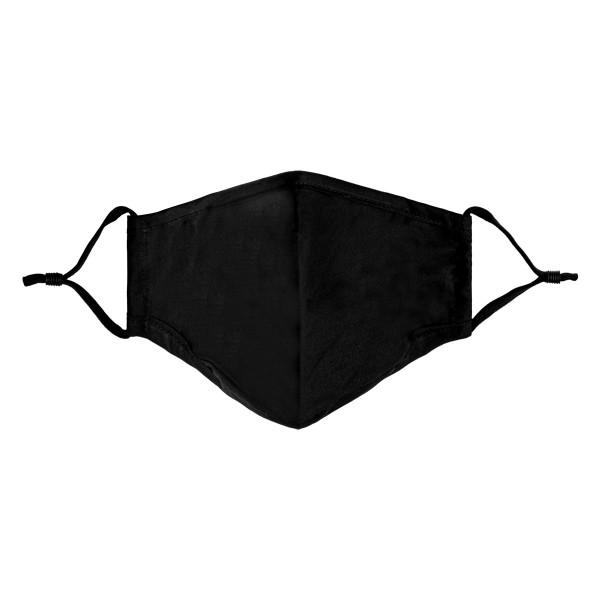 Mondkapje niet medisch small 17x13cm black