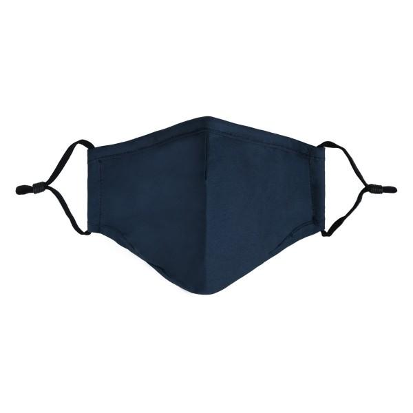 Mondkapje niet medisch small 17x13cm blue