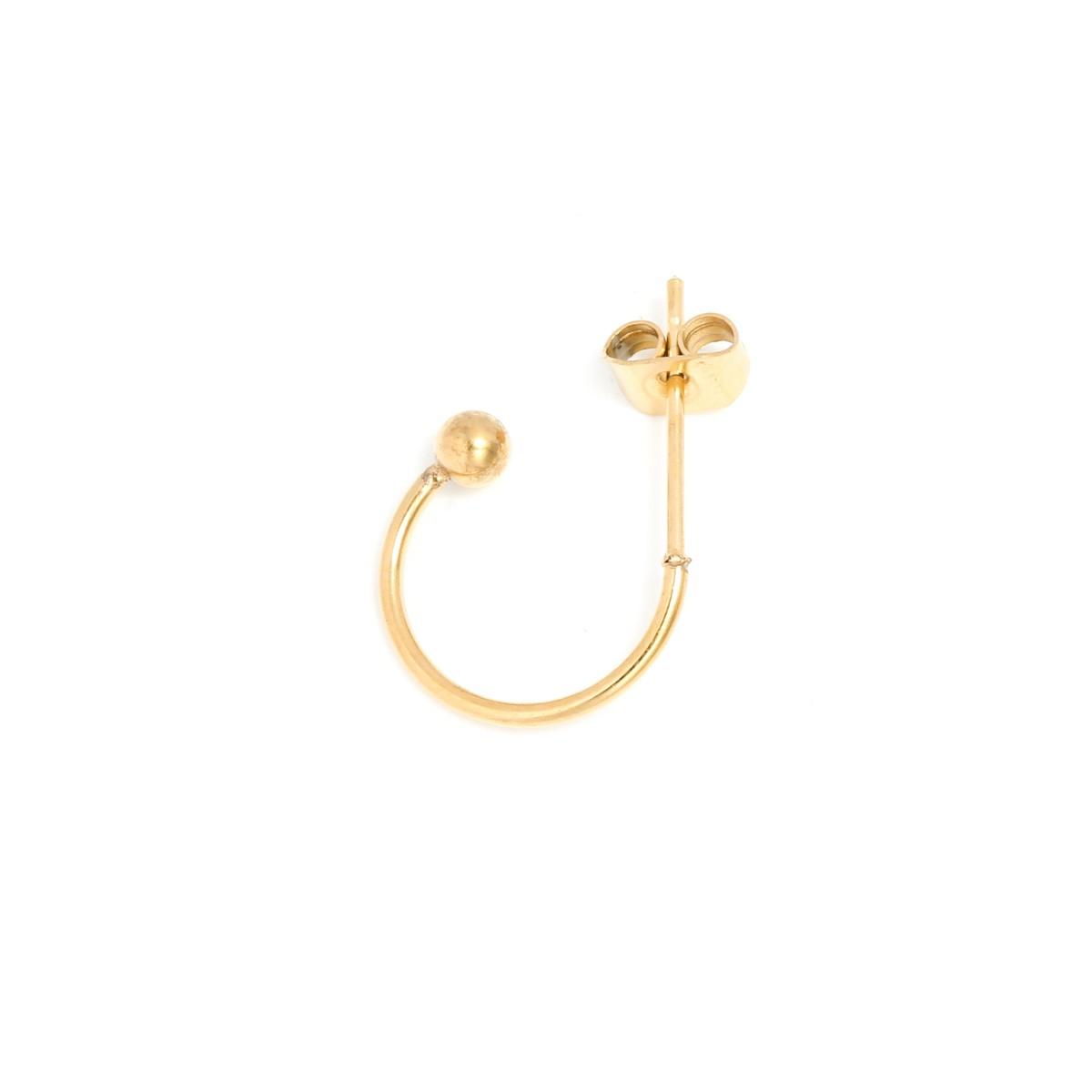 oorsteker-creool-stainless-steel-goud-13mm-per-paar