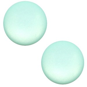 Polaris cabochon 7mm matt anise green