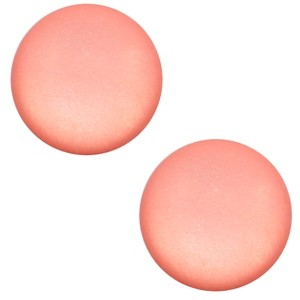 Polaris cabochon 7mm matt salmon rose