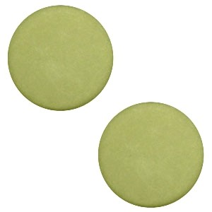 Polaris cabochon 7mm matt salvia green