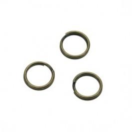 Splitring brons 5mm (per stuk)
