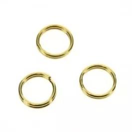 Splitring goud 5mm (per stuk)