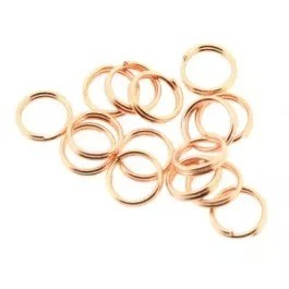 Splitring rosé 5mm (per stuk)