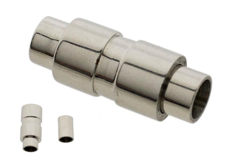 Stainless steel magneetslot tube 23x9mm rvs