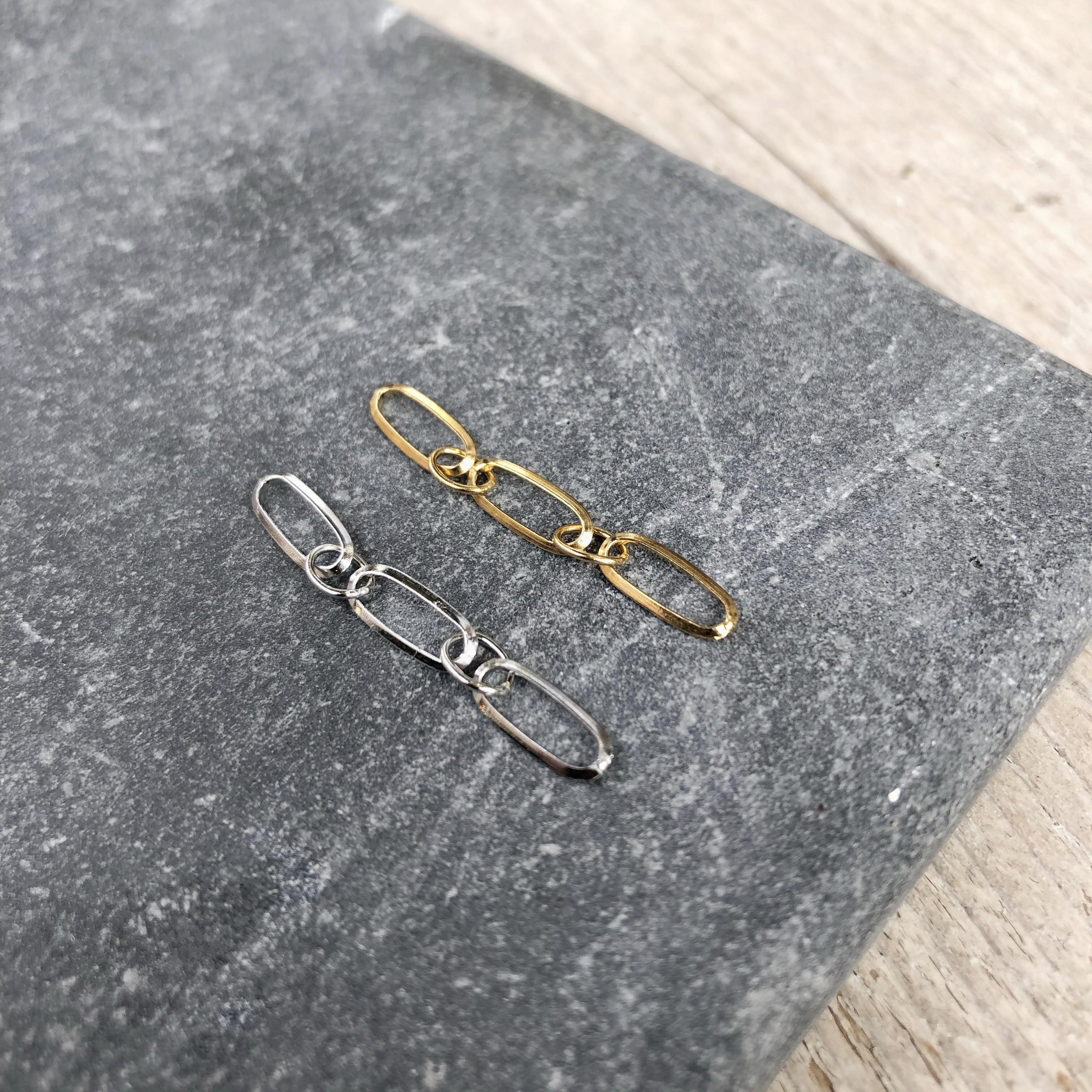 stainless-steel-schakel-hanger-3cm-zilver-goud-per-stuk