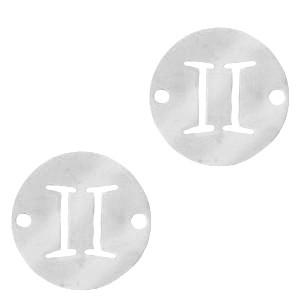 bedel-tussenzetsel-sterrenbeeld-tweeling-zilver-stainless-steel-12mm