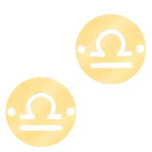 bedel-tussenzetsel-sterrenbeeld-weegschaal-goud-stainless-steel-12mm