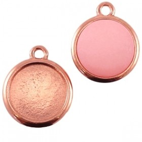 Polaris setting 1 oog voor cabochon 12mm rose DQ