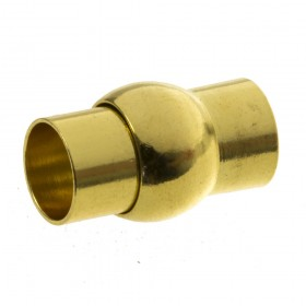 DQ magneetslot 8mm goud