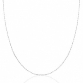Stainless steel ketting zilver 45cm