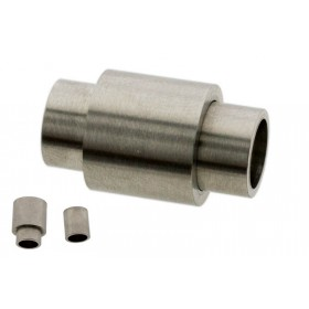 Stainless steel magneetslot tube 20x11mm rvs