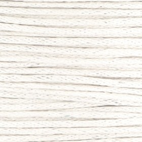 Waxkoord 1mm off white per meter