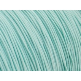 Gekleurd elastiek 0,8mm 10 meter mint aqua