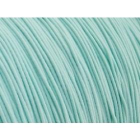 Gekleurd elastiek 0,8mm 10 meter mint aqua