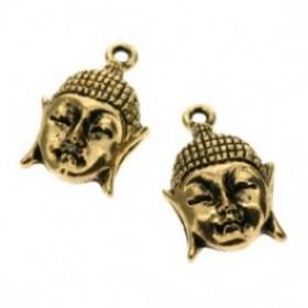 Bedel goud buddha 16mm