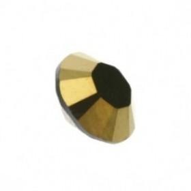 Swarovski puntsteen SS39 crystal dorado