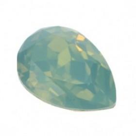 Swarovski druppel 14x10mm pacific opal