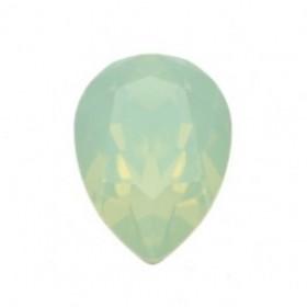 Swarovski druppel 14x10mm crysolite opal