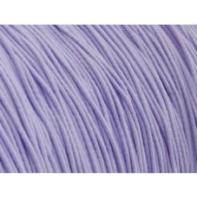 Gekleurd elastiek 0,8mm 10 meter lila